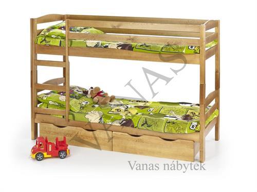 Patrová postel SAM v provedení olše