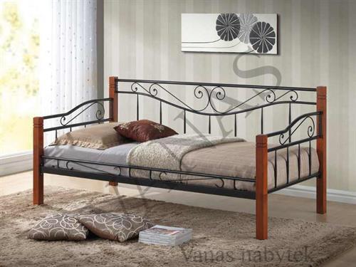 Kovaná postel KENIA 90x200 cm